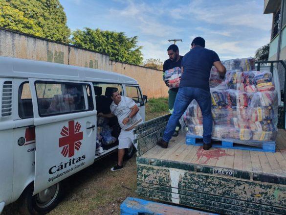 Cáritas se une á Prefeitura em Ação Solidária